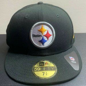 New Era 59Fifty Pittsburgh Steelers Fitted Hat Cap